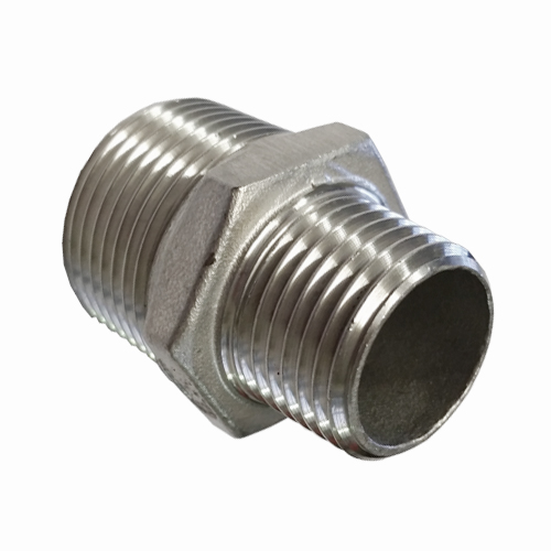 "1 1//2/"" Male x 3//4/"" female BSPT HEX REDUCING BUSH STAINLESS STEEL PIPE FITTINGS"