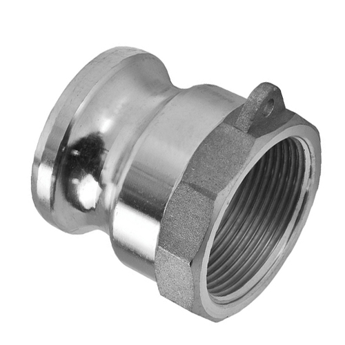 Stainless Steel Camlock Type A -  BSP Thread
