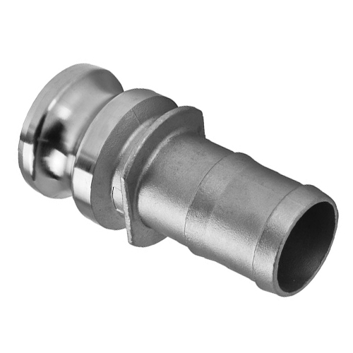 Camlock Fittings Stainless Steel 316 Coupling Type E (Male Camlock - Hose Barb)