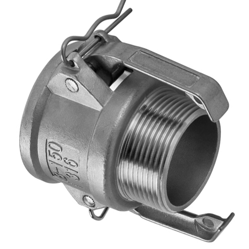 Stainless Steel 316 Camlock Coupling Type B - 25mm (1 Inch BSP)