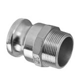 Camlock Fittings Stainless Steel 316 Coupling Type F - 65mm (2 1/2 Inch)