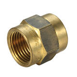 Brass Female/ Female Socket 20mm (3/4 Inch)