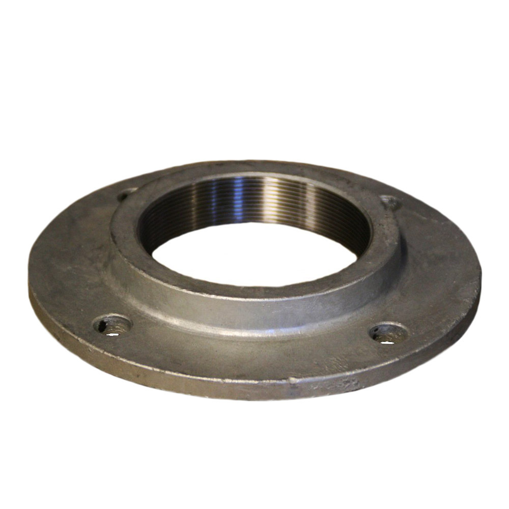 Galvanised Flange BS10 Drilled TABLE D