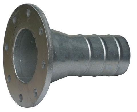 Hose Tail Reducing Galvanised Flange Table E 150 x 100 mm