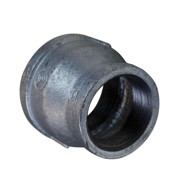 Galvanised Malleable Reducing Socket Female BSP 40 x 15 mm (1 1/2 x 1/2 Inch)