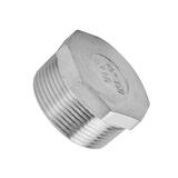 Stainless Steel 316 Hex Plug BSP 15mm (1/2Inch )