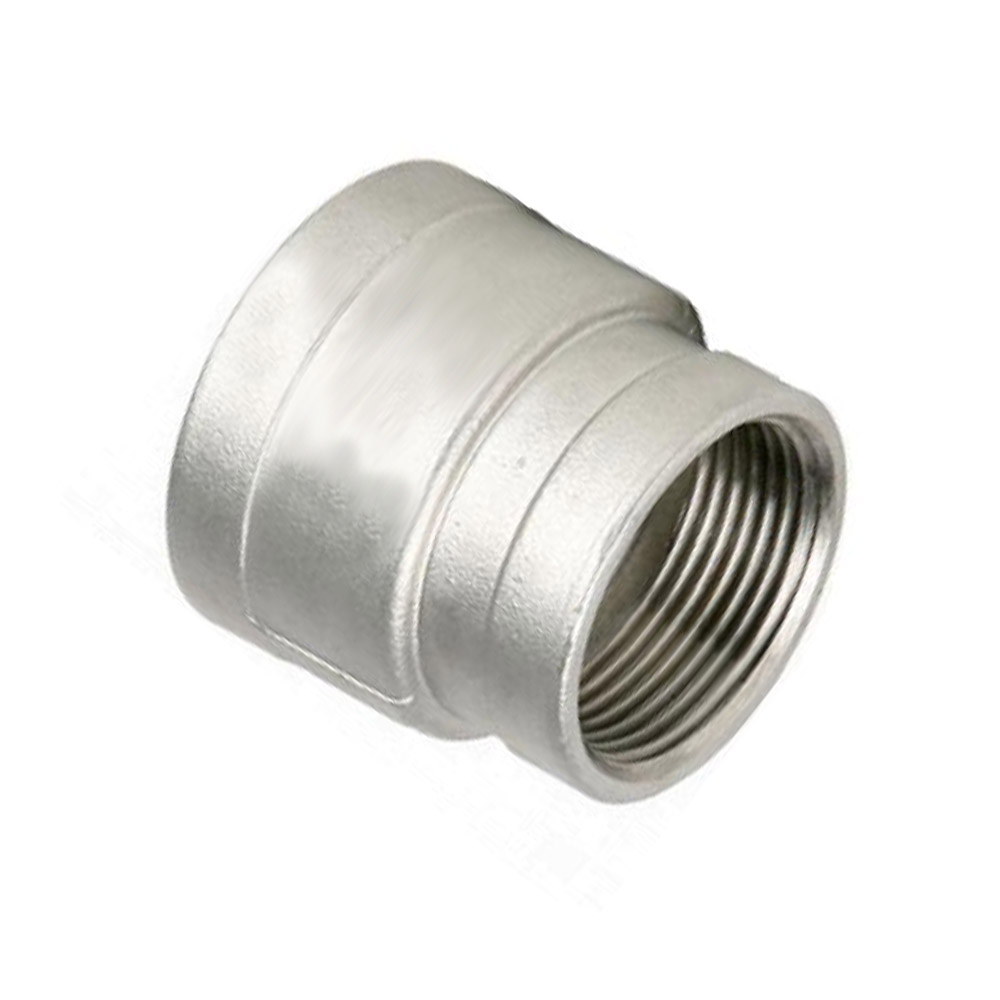 Stainless Steel 316 Reducing Socket BSP 25 x 15 mm (1 x 1/2 Inch)