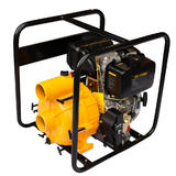 DIESEL 3 Inch Trash Sludge Mud Septic Pump 7HP THORNADO Key Start