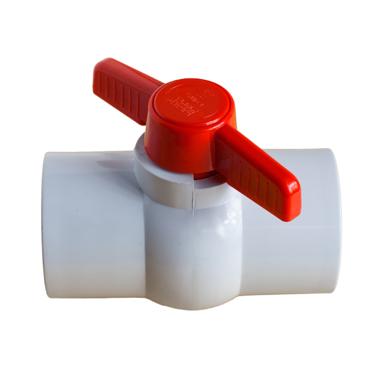 PVC Ball Valve General Purpose Female / Female